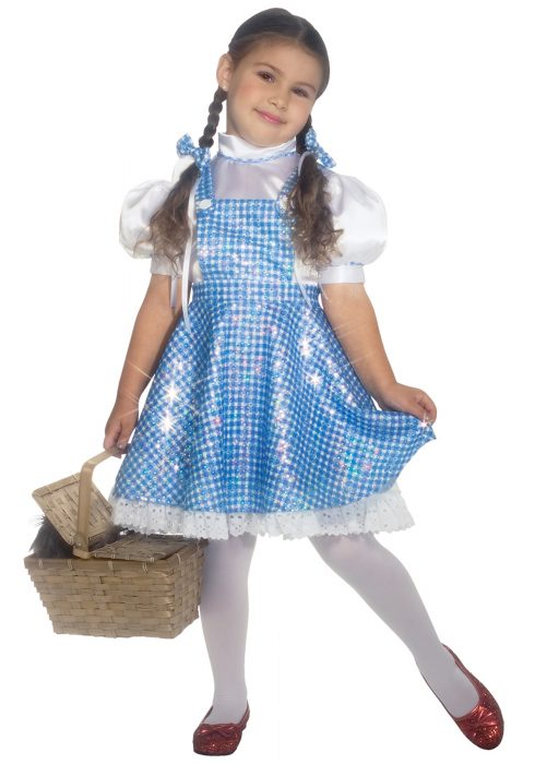Toddler Sequin Dorothy Costume