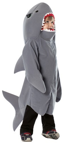 Toddler Shark Costume - Size 18 - 24 months
