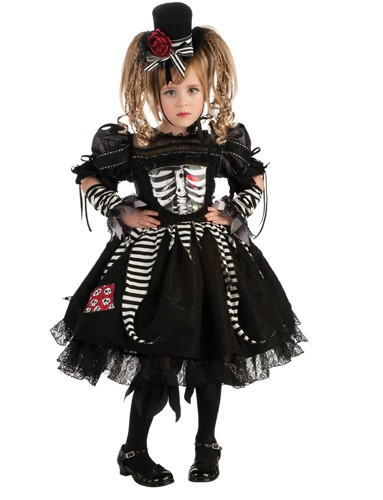 Toddler Skeleton Costume - Bones