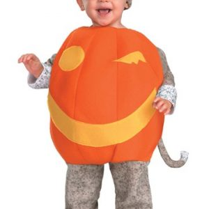 Toddler Sock Monkey Pumpkin Costume