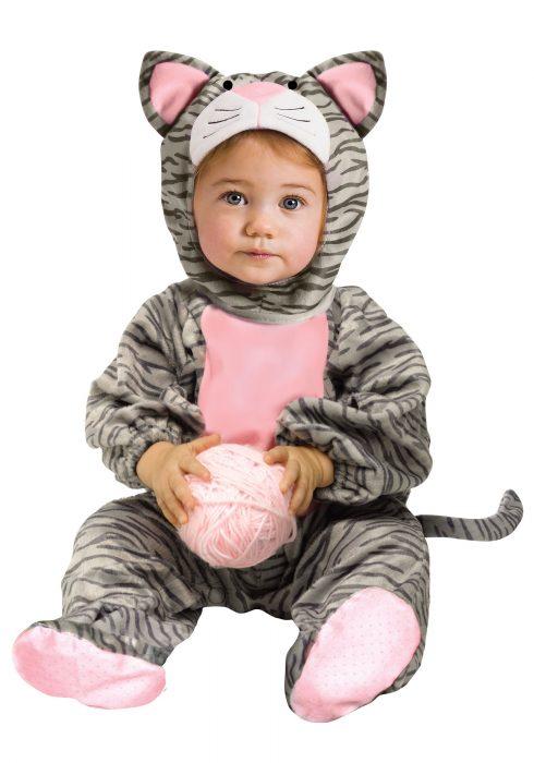 Toddler Striped Gray Kitten Costume