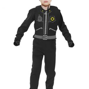 Toddler The Cop Costume