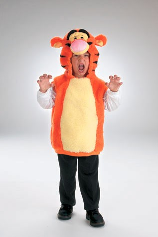 Toddler Tigger Costume Vest