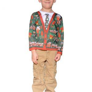 Toddler Ugly Christmas Cardigan Shirt