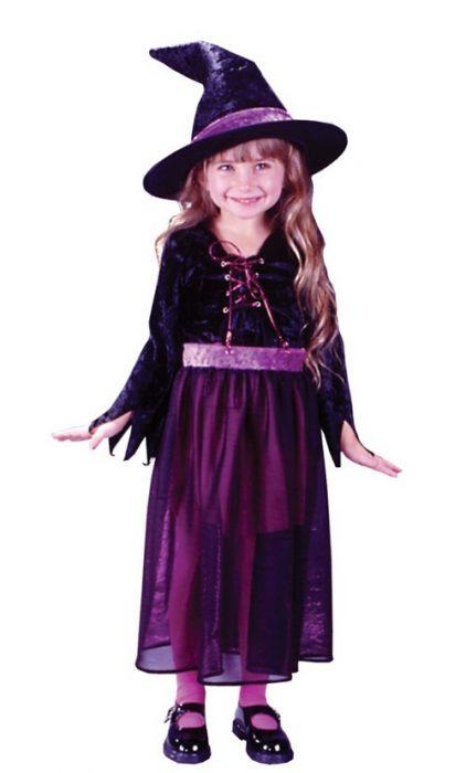 Toddler Velvet Storybook Witch Costume
