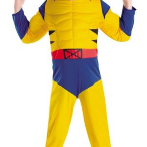 Toddler Wolverine Muscle Costume