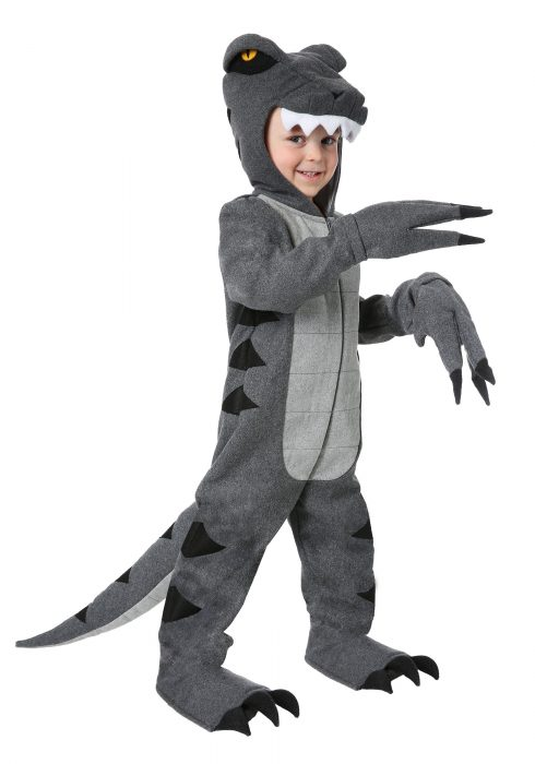 Toddler Woolly T-Rex Costume
