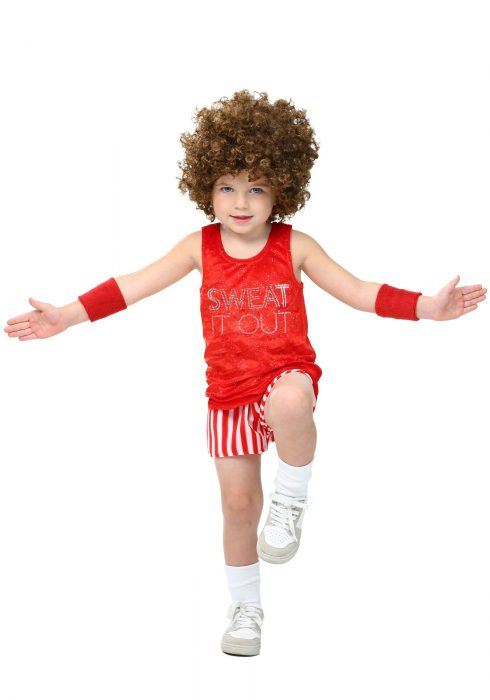 Toddler Workout Video Star Costume