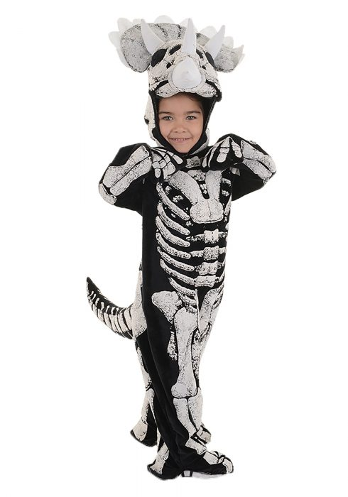Toddler/Child Triceratops Fossil Costume