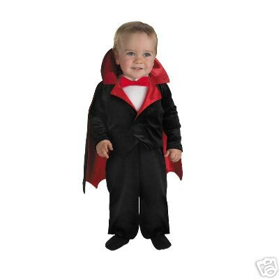 Too Cute To Spook Infant Lil' Vampire Costume