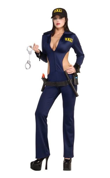 Top Cop FBI Adult Sexy Cop Costume