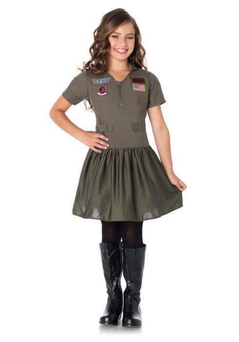 Top Gun Girls Flight Dress