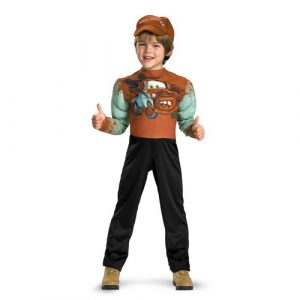Tow Mater Muscle Costume