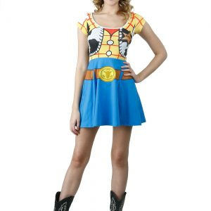 Toy Story I Am Woody Skater Dress