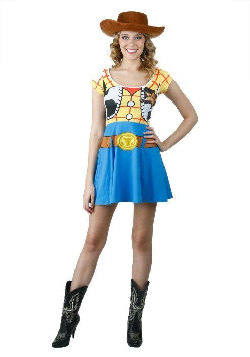 Toy Story I Am Woody Skater Dress
