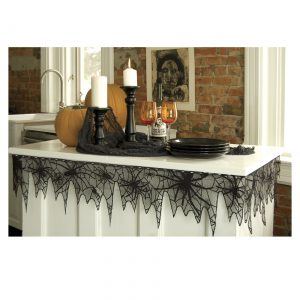 Trick or Trim Spider Web Table Trim