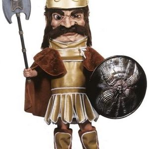 Trojan Warrior Mascot Costume