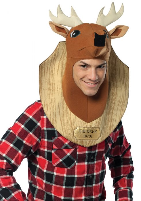 Trophy Head Oh Deer Costume
