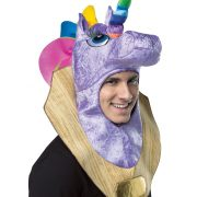 Trophy Head Unicorn Hood