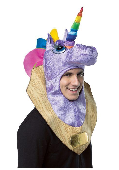 Trophy Head Unicorn Hood