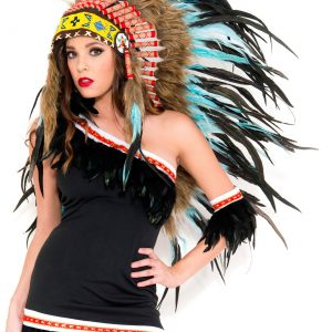 Turquoise Indian Headdress