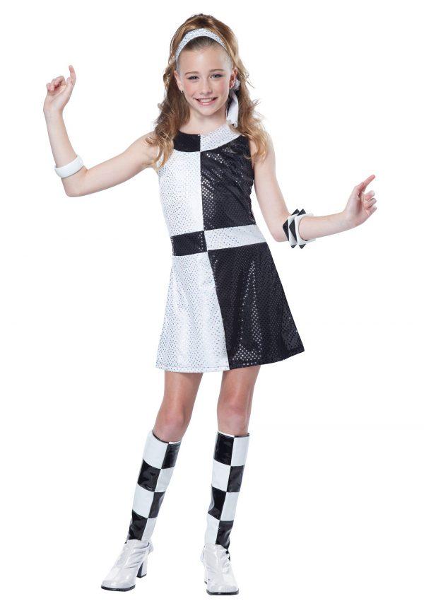 Tween 60s Mod Chic Costume