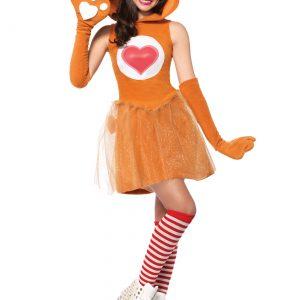 Tween Care Bears Tenderheart Bear Costume