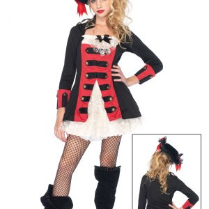 Tween Charming Pirate Captain Costume