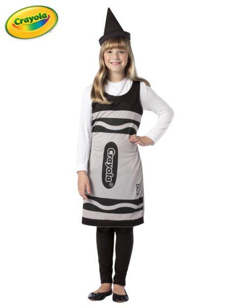 Tween Crayola Crayon Costume - Black