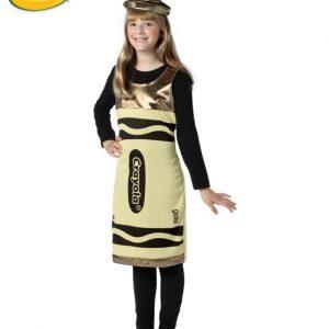 Tween Crayola Crayon Costume - Gold