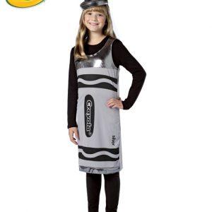 Tween Crayola Crayon Costume - Silver