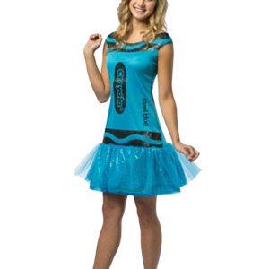 Tween Crayola Steel Blue Glitz Dress