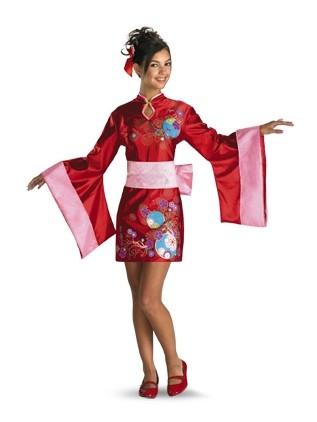 Tween Kimono Costume - Kimono Kutie