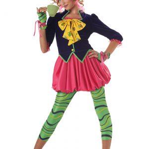 Tween Miss Mad Hatter Costume