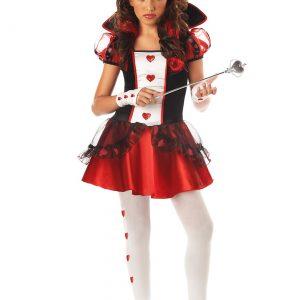 Tween Queen of Hearts Costume