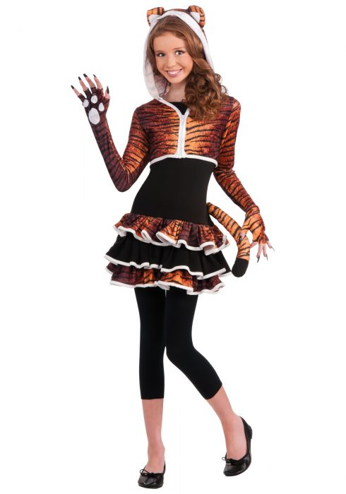 Tween Tigress Costume