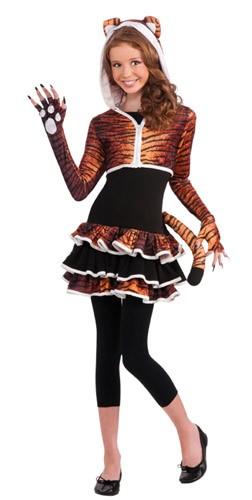 Tween Tigress Hoodie Costume
