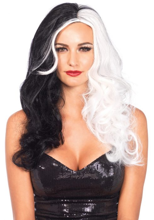Two-Tone Long Wavy Villainess Wig