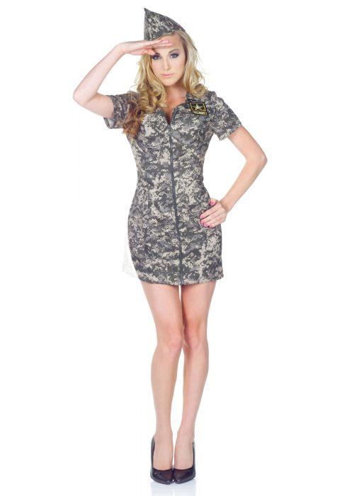 U.S. Army Camo Dress