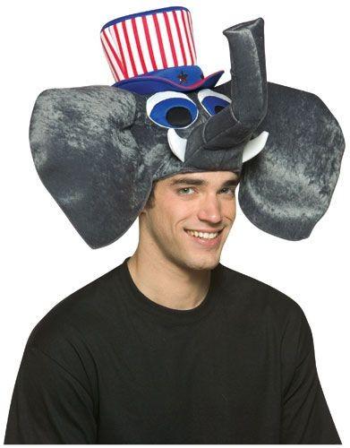 USA Elephant Hat - Republican Hat