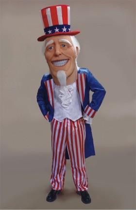 Uncle Sam Mascot Costume