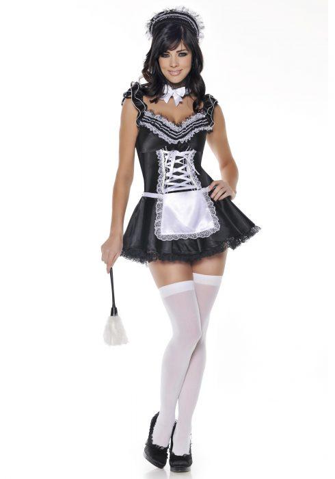 Upstairs French Maid Costume