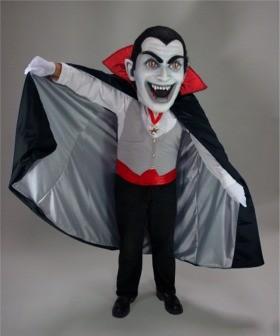 Vampire Mascot Head