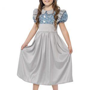 Victorian Era Child School Girl Costume