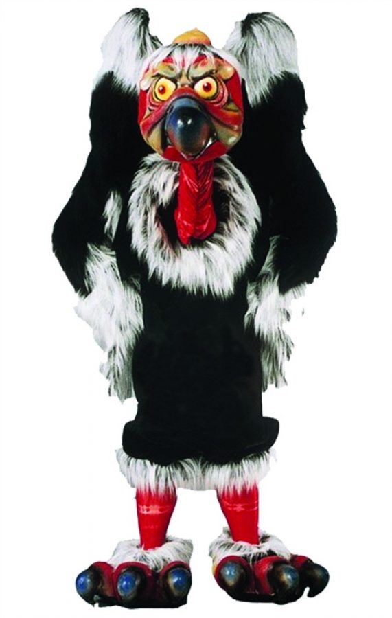 Vincent Von Vulture Mascot Costume