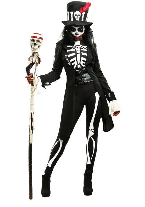 Voodoo Skeleton Women's Costume