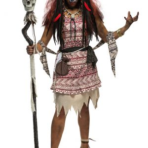 Voodoo Witch Plus Size Women's Costume