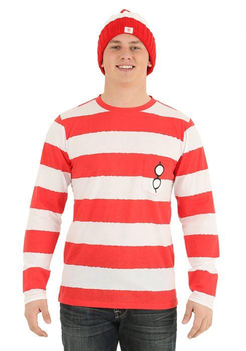 Where's Waldo Long Sleeve I am Waldo Shirt