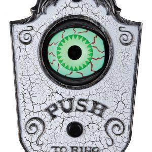 White Eye Doorbell Prop
