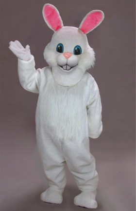 White Rabbit Mascot Costume